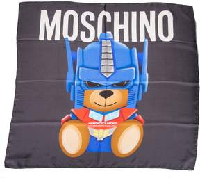 Moschino Transformer Teddy Bear Scarf