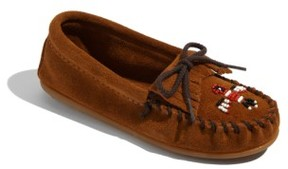 Minnetonka Girl's 'Thunderbird' Moccasin