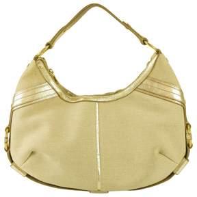 Saint Laurent Mombasa leather bag - GOLD - STYLE