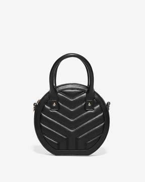 Express Quilted Circle Crossbody Bag