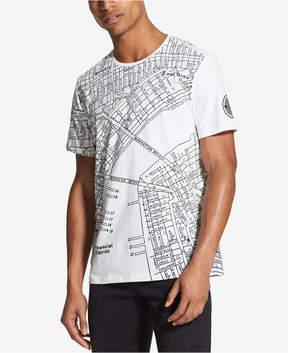 DKNY Men's Nyc Street Map T-Shirt, Created for Macy's