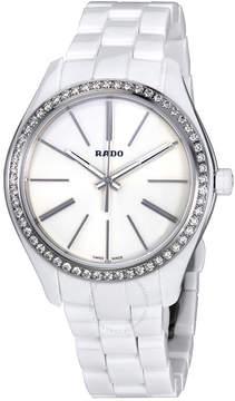 Rado HyperChrome White Dial Ladies Diamond Watch