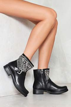 Nasty Gal nastygal Heavy Metal Lover Embellished Boot