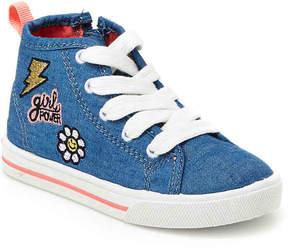 Carter's Girls Ginger 3 Toddler High-Top Sneaker