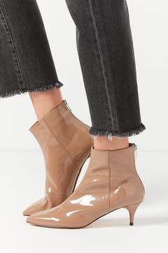 Urban Outfitters Bailey Patent Kitten Heel Ankle Boot