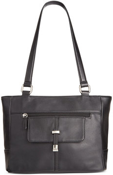 Giani Bernini Nappa Leather Belt Tote, Created for Macy's