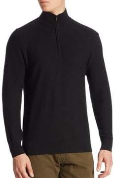 Ralph Lauren Purple Lable Half-Zip Sweater