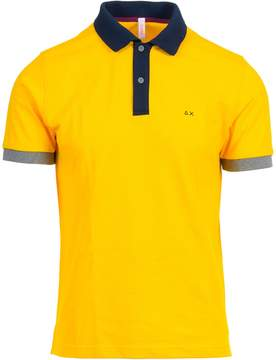 Sun 68 Sun68 Cotton Polo