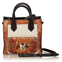 Balenciaga Pre-owned: Mini Padlock All Afternoon Bag.