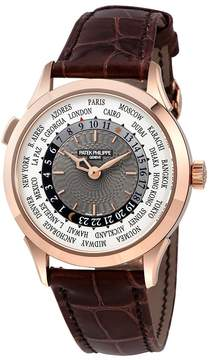 Patek Philippe Complications Automatic World Time Gold Men's Watch