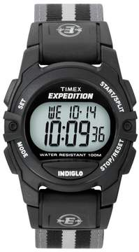 Timex Expedition® Digital Watch with Nylon Strap - Black/Gray T49661JT