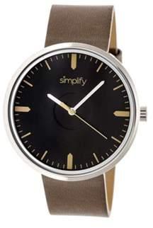 Simplify Men's The 4500 Quartz Watch.