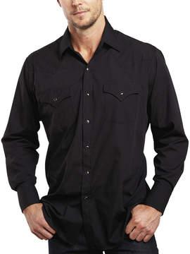 JCPenney Ely Cattleman Long-Sleeve Snap Shirt - Tall