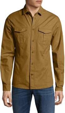 Orlebar Brown Men's Whitby Sportshirt with Chest Pockets