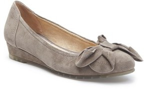 Me Too Women's Martina Bow Ballet Wedge
