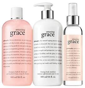 philosophy Grace & Love Soft As Silk 3-Piecelayering Kit