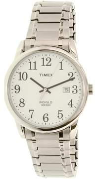 Timex Men's TW2P81300 Silver Stainless-Steel Quartz Watch