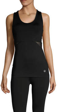 Electric Yoga Women's Keyhole Mesh Tank Top