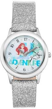 Disney Princess Ariel Up for Adventure Kids' Leather Watch