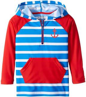 Hatley Vintage Nautical Hooded Rashguard (Toddler/Little Kids/Big Kids)