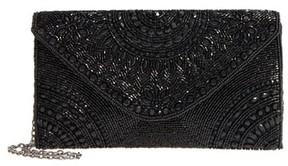 Nordstrom Alhambra Beaded Envelope Clutch - Black