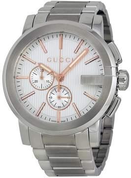 Gucci G-Chrono Chronograph Silver Dial Men's Watch