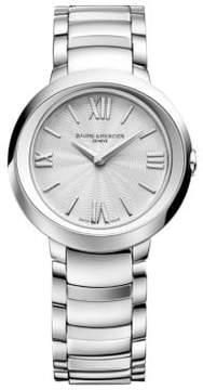 Baume & Mercier Promesse 10157 Stainless Steel Bracelet Watch
