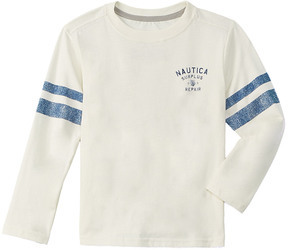 Nautica Boys' Football T-Shirt