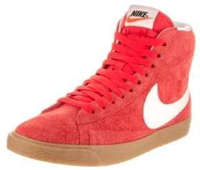 Nike Women's Blazer Mid Suede Vntg Max Orange/Ivory Casual Shoe 7 Women US