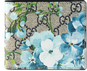 Gucci GG Blooms wallet - BLUE BLOOMS - STYLE