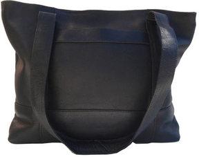 Women's Piel Leather Top Zip Tote 7630