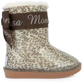 MonnaLisa Fur-lined rain boots