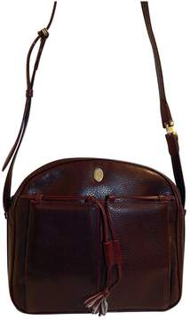 Cartier Vintage Brown Leather Handbag