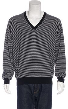 Ballantyne Striped Cashmere Sweater