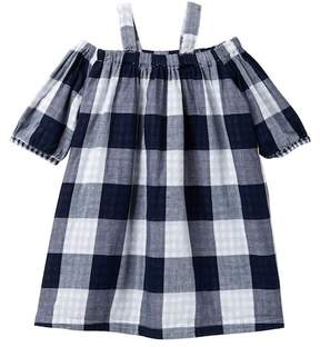 Joe Fresh Plaid Cold-Shoulder Dress (Little Girls & Big Girls)