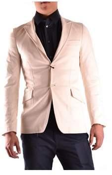 CNC Costume National Men's Beige Polyester Blazer.