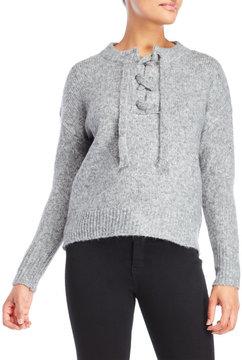 Cliche Lace-Up Sweater