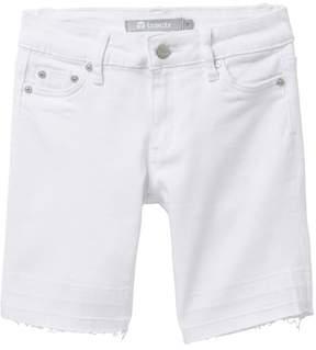 Tractr 5 Pocket Released Hem Bermuda Shorts (Big Girls)