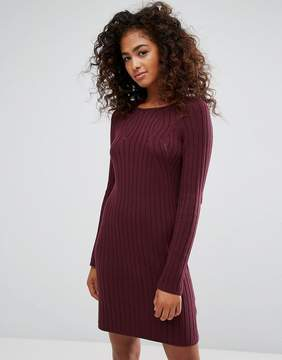 Esprit Knitted Ribbed Dress