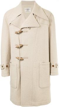Kent & Curwen toggle fastening coat