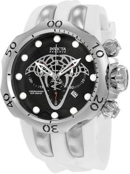Invicta Reserve Venom Viper Chronograph Black Dial Men's Watch