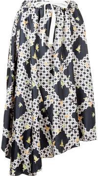 ASTRAET lattice print skirt