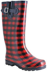 NOMAD Rubber Rain Boots - Puddles Gingham