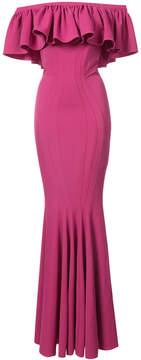 Zac Posen Crystal gown