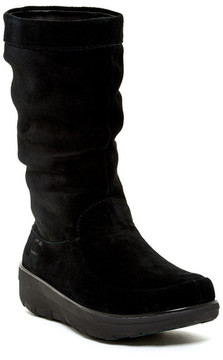 FitFlop Loaff Slouchy Platform Knee Boot
