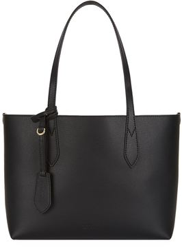Burberry Small Reversible Top Handle Bag - BLACK - STYLE