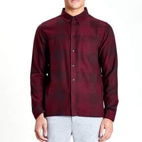 NATIVE YOUTH Men's Chalgrove Shirt - Burgundy