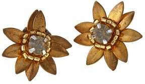 Deepa Gurnani deepa by Gisella Flower Stud Earrings
