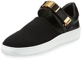 Buscemi 60mm Modern Sport Slip-On Sneaker, Black