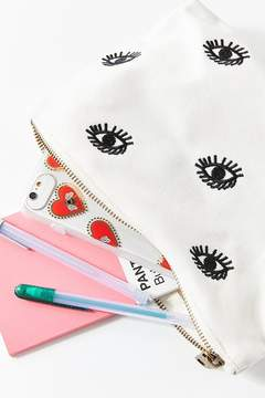 Urban Outfitters Embroidered Eye Pouch